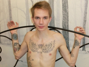 featured tattoo male model